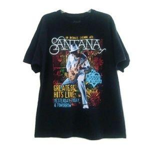 SANTANA House of Blues Vegas Graphic T-Shirt XL